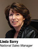 Linda Barry, National Sales Manager