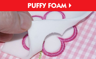 9x12 Puffy Foam - 3mm