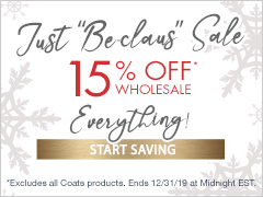 December Special - 15% Off Everything