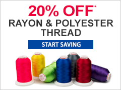 Rayon And Polyester Thread Sale
