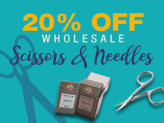 March Special - 20% Off Scissors & Needles