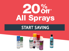 August Special - 20% Off Sprays