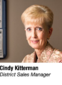 Cindy Kitterman, District Sales Manager