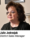 Julie Jedrzejak, District Sales Manager
