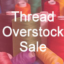Thread Overstock Sale