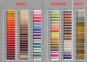 Eco friendly embroidery supplies thread gunold usa